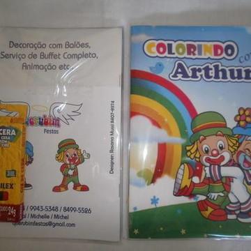 Caderno de Colorir