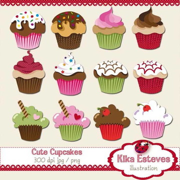 Clipart Cupcake Delícia