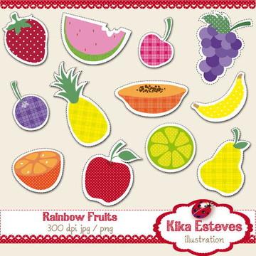 Clipart Frutas
