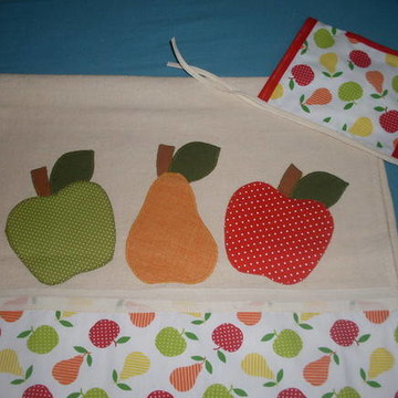 Porta Pano de Prato Frutas