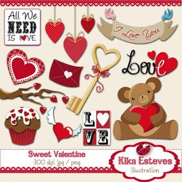 Clipart Dia dos Namorados