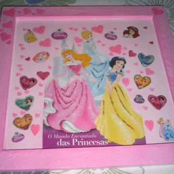 Quadro Mundo Encantado das Princesas