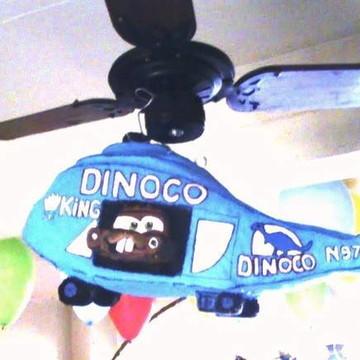 Helicóptero filme carros