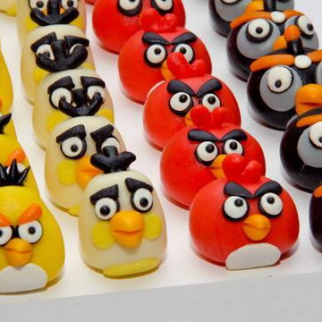 Angry Birds - Doces Modelados