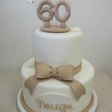 Bolo Aniversario 60 anos