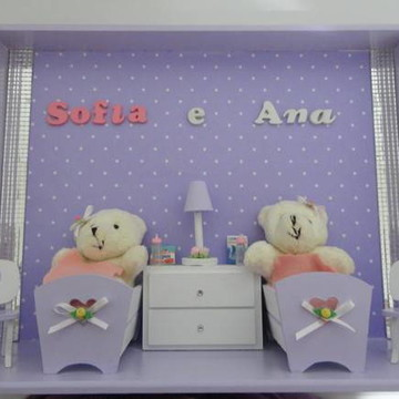 Porta Maternidade Gêmeos
