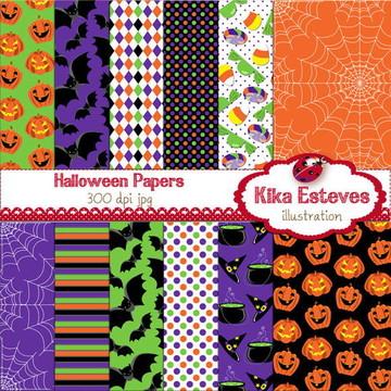 Papéis Digitais Halloween