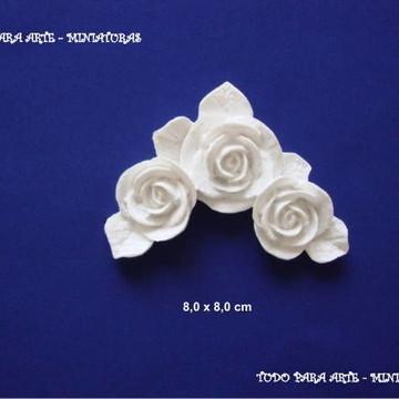 Cantoneira rosas ( par)