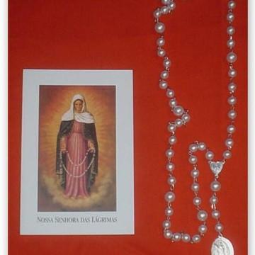 Nossa Senhora das Lágrimas Kit Terço