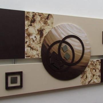 Quadro Abstrato Decorativo - Promoção