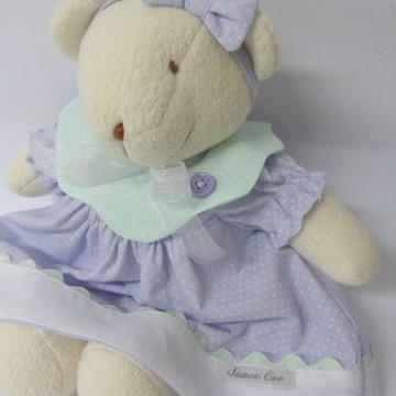 Pelucia Ursa com Vestido