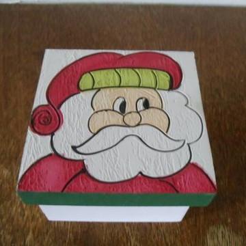 Caixa em mdf Papai Noel
