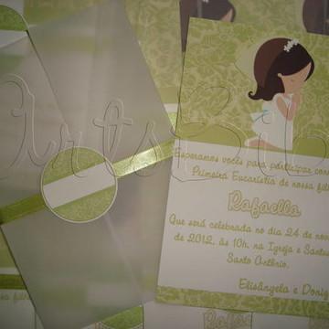 Convite Primeira Comunhao (entregue)