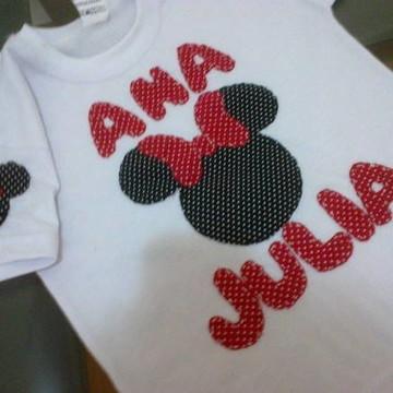 Camiseta da Minnie
