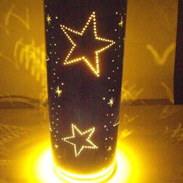 Luminária Estrelas