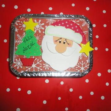 Marmitinha personalizada no tema Natal