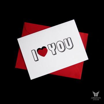 Cartão I Love You