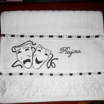 toalha de visita teatro