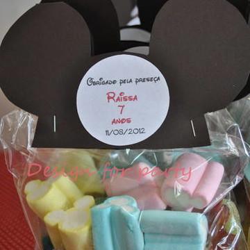 Lembrancinha Mickey ou Minnie