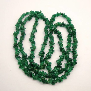 Colar de Pedra Quartzo verde