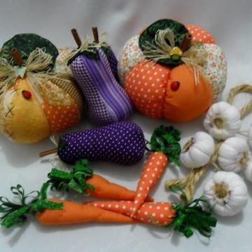 Legumes em tecido