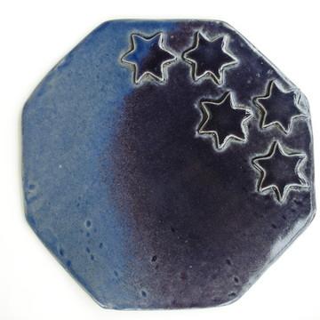 Prato de Cerâmica para frios e queijos
