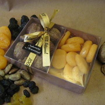 Caixa de Frutas secas Média