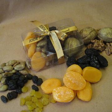 Caixa De Frutas Secas Pequena