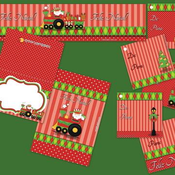 Kit festa Natal p/imprimir