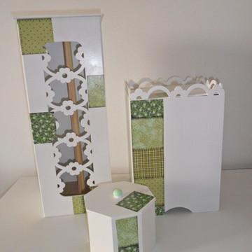 conjunto banheiro-lavabo verde (vendido)