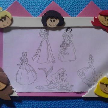 Risque e Rabisque Princesas