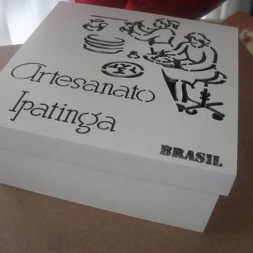 caixa brasil....artesanato ipatinga