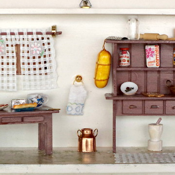 Cozinha miniatura peq