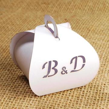Caixa Para Bem Casados Iniciais