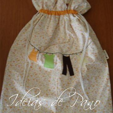 Saco de Roupa Suja (com plástico)