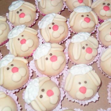 Docinhos modelado personalizado ovelhas