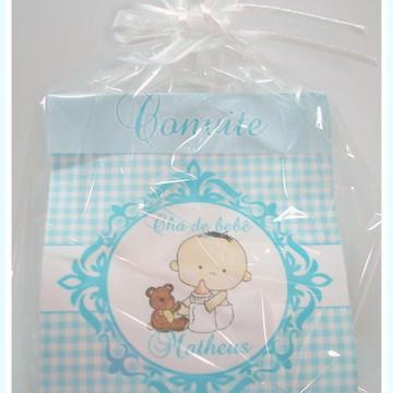 Convite Chá De Bebê Ou Fraldas