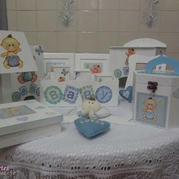 Kit de higiene menino Baby 13 pçs