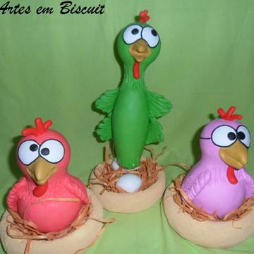 Galinhas cantoras (galinha pintadinha)