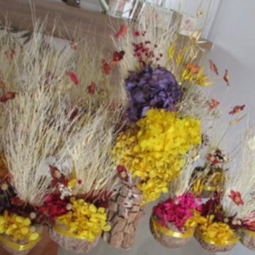 Kit flores secas Arranjos & Cumbucas