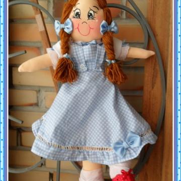 Dorothy O mágico de Oz de pano