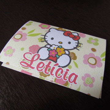 Convite Infantil Hello Kitty