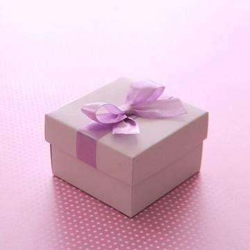Caixa para Bem Casado Bca/lilás