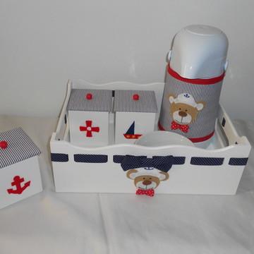 Kit higiene ursinho marinheiro