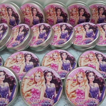 Latinha Barbie A Princesa e a PopStar