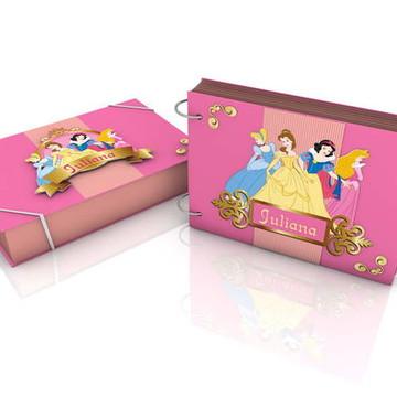 Álbum de Fotos argolado Princesas