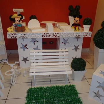 Aluguel Mesa Provençal Mickey
