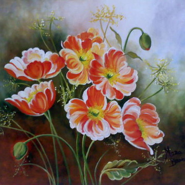 Pintura em tela - Painel