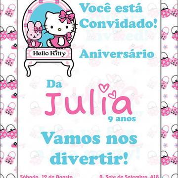 Hello Kitty Convite Digital Fashion