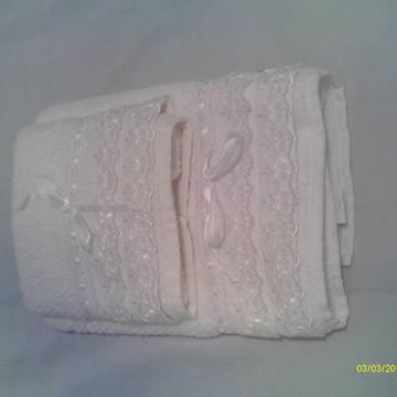 Toalha Branca Banho e rosto